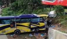 مقتل 28 شخصا بحادث تعرضت له حافلة سياحية في جزيرة ماديرا البرتغالية