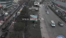 التحكم المروري: حركة المرور كثيفة من جسر الفيات باتجاه الكرنتينا