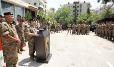 رئيس الأركان تفقد قيادة فوج التدخل الخامس