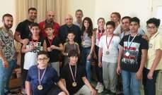"""المطران درويش التقى أبطال لبنان في رياضة """"كونغ فو ساندا"""""""