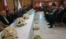 لقاء لقدماء القوى المسلحة مع العسكريين المتقاعدين بطليا تناول السلسلة