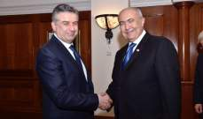 مخزومي التقى رئيس الوزراء الأرميني: لتعزيز أواصر العلاقة بين الشعبين