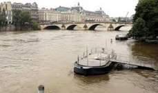 تعطل حركة النقل وتأهب في باريس مع استمرار ارتفاع منسوب نهر السين