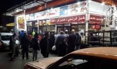 النشرة: صفوف من المواطنين أمام أفران صيدا وإعطاء ربطة واحدة للفرد