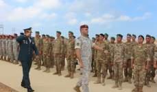 """مدرسة القوات الخاصة في حامات أقامت حفل تخريج دورة تدخل """"37"""""""