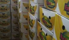 جمارك طرابلس ضبطت 3 طن من الموز الصومالي المهرب