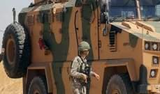 سانا: مقتل 4 عسكريين أتراك بانفجار سيارة مفخخة بريف رأس العين شمال سوريا