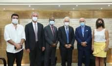 برنامج الأمم المتحدة الإنمائي سلّم الدفاع المدني معدات الحماية الشخصية لمواجهة كورونا