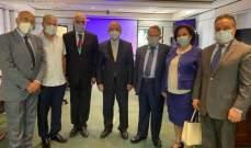 نقابة المحررين زارت رئيس الجامعة اللبنانية الأميركية الجديد: نعول على التعاون