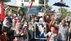 محافظ حمص: يتم التواصل من بعض أهالي القصير الموجودين بلبنان لتسهيل عودتهم