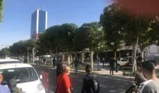 تفجير انتحاري يستهدف سيارة شرطة وسط العاصمة التونسية