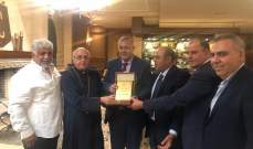 جمعية درب الكروم كرمت القاضي مروان عبود