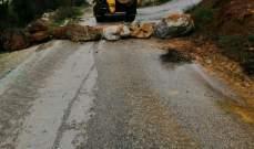 النشرة: بلدية عين قنيا أقفلت كافة المنافذ الفرعية والطرق الزراعية باتجاه البلدة