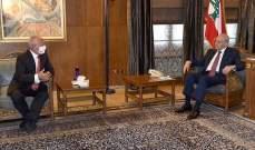 بري التقى ابراهيم وسفير أرمينيا ووفد من رؤوساء الجامعات الخاصة وتلقى برقية تهنئة من السيسي بعيد الأضحى