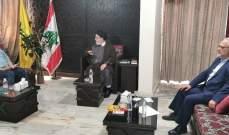وهاب بعد زيارته السيد ابراهيم أمين السيد: إنتخاب رئيسي إنجاز تاريخي لإيران