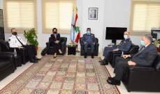 عثمان التقى غريو: التعاون الأمني بين بلدينا عامل مشترك من أجل لبنان أكثر استقرارا