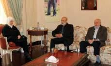 الحريري التقت وفدا من الجماعة الإسلامية: نأمل أن يتمكن لبنان من اجتياز هذه الأزمة
