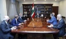 الرئيس عون التقى وفد تكتّل نواب بعلبك الهرمل وعرض معهم أوضاع المنطقة
