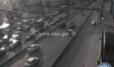 التحكم المروري: حركة مرور كثيفة من الكرنتينا وصولا الى نهر الموت