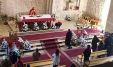 النشرة: الطوائف المسيحية احتفلت بالميلاد في مناطق بعلبك والبقاع الغربي