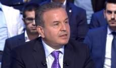 درغام: لا أحد يمكنه أن يملي شيئا على الرئيس عون ونشعر أن فرع المعلومات يفبرك ملفات
