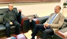 ابي رميا زار وزير الصحة: مستشفى البوار سيكون جاهزا اول الأسبوع المقبل