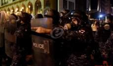 قوى الامن الداخلي: إصابة 20 عنصرا و3 ضباط استوجبت نقلهم الى المستشفيات