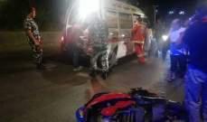 النشرة: سقوط قتيل جراء انزلاقات وحوادث سير على طرقات النبطية تسببت بها العاصفة