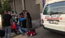 النشرة: جريح نتيجة حادث صدم في شارع ناتاشا سعد بصيدا