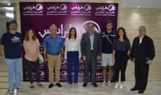 شبيبة الروتاري الفرنسية يزور غرفة طرابلس ولبنان الشمالي