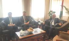 سرحان عرض وسفير الصين تفعيل العلاقات قضائيا وحقوقيا