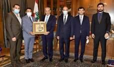 بري استقبل رئيس منتدى التعاون الاسلامي للشباب بحضور سفير تركيا