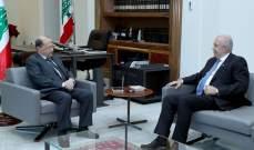 الرئيس عون عرض مع مخزومي للأوضاع العامة وبحث مع عبود بحال الصناعة