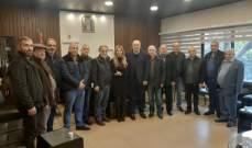 انتخاب غسان طيون نائبا لرئيس اتحاد بلديات قضاء زغرتا