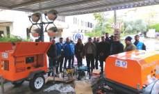 بلدية صيدا تسلمت معدات وتجهيزات من مفوضية الأمم المتحدة للاجئين