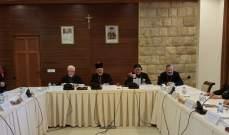 سينودس الكنيسة السريانية الكاثوليكية: لتسريع عودة النازحين إلى ديارهم