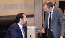 مبادرة الراعي وإبراهيم: مصالحة باسيل والحريري وعقد مؤتمر وطني في بكركي