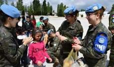 اليونيفيل نظمت مخيما صيفيا لأطفال مركز حاصبيا العرقوب للرعاية