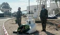 الكتيبة الاسبانية أقامت احتفالا تابينيا تكريما للعريف فرانسيسكو خافيير