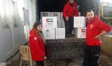 الهلال الأحمر الإماراتي وزع حصص غذائية على العائلات الفقيرة في حاصبيا