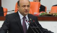 وزير دفاع تركيا : انتهاك وحدة أراضي العراق وسوريا خطر كبير على تركيا