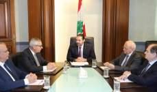 الحريري استقبل سفيرة كندا ومجلس القضاء الأعلى والسفير الايراني
