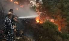 قوى الأمن: نساند بإخماد الحرائق ونسيّر دوريات للحفاظ على الأمن وتسهيل عمليات الإنقاذ
