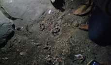 النشرة: القاء قنبلة صوتية في مجرى نهر ابو علي في باب التبانة طرابلس