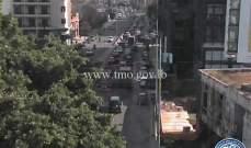 حركة المرور كثيفة من الصيفي باتجاه شارل الحلو وصولا الى الكرنتينا