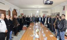تسليم وتسلّم في دائرة الشوف في الديمقراطي اللبناني