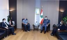 اللواء عثمان استقبل عائلة الشهيد الرقيب اول توفيق الدويهي
