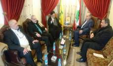 وهاب بعد زيارته السيد أمين السيد:لاستعادة الثقة بالدولة عبر تصحيح الفساد في مؤسساتها