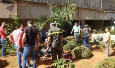 الدفاع المدني: إصابة عاملة إثيوبية جراء سقوطها من أحد المباني السكنية بطريق الجديدة