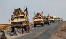 المرصد السوري: 30 شاحنة عسكرية للتحالف الدولي دخلت الأراضي السورية باتجاه ريف الحسكة